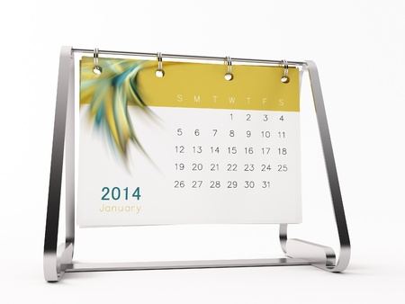 a calendar for 2014 Stock Photo - 14752813