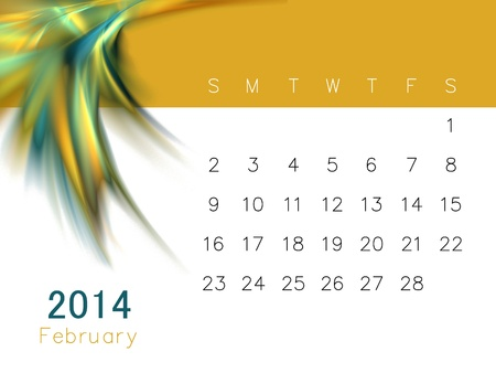dimensionally: a calendar for 2014
