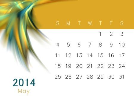 a calendar for 2014