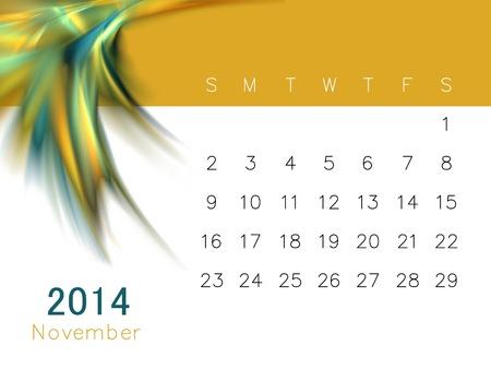 a calendar for 2014 photo