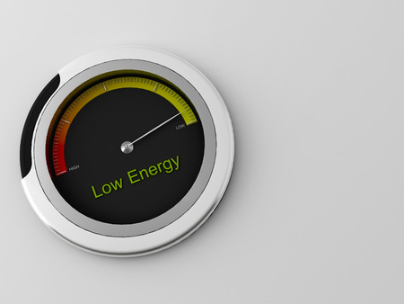 detecting: a 3d made indicator for detecting ranges between low and high