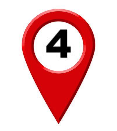 zvýšil: map pointer number 4