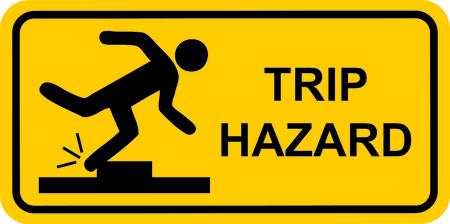 Trip Hazard Stock Photo