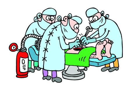 Operation Ilustração Vetorial