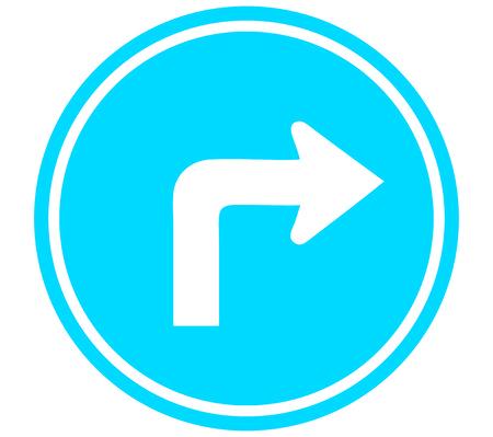 Turn Right arrow