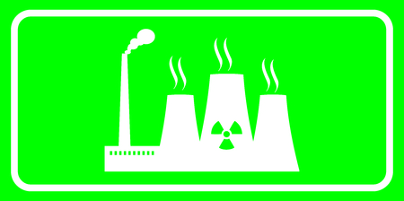 reactor: thermal reactor sign Illustration