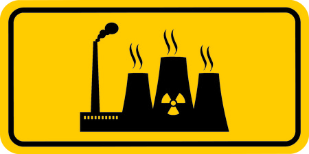thermal: thermal reactor sign Illustration