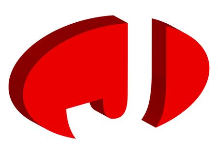 J alphabet Illustration