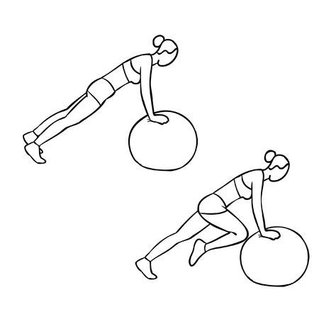 zvýšil: Pilates míč