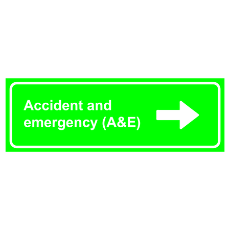 Accident and emergency (A & E)
