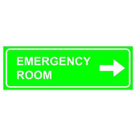medical symbol: Emergency room sign