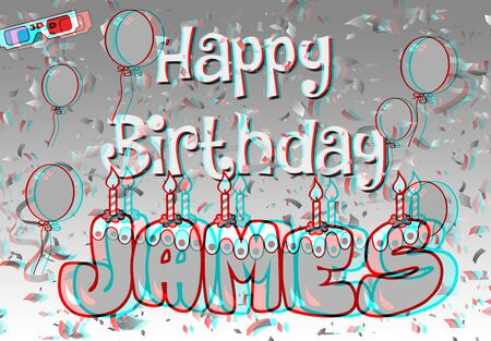 3D stereographic james