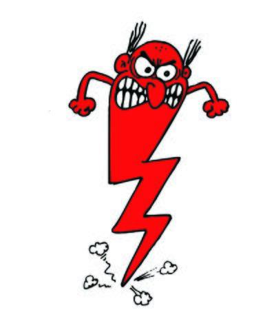 Very angry man Иллюстрация