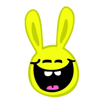 Smiley rabbit