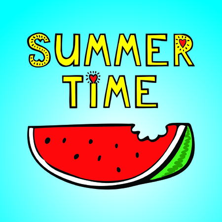 summer time Иллюстрация