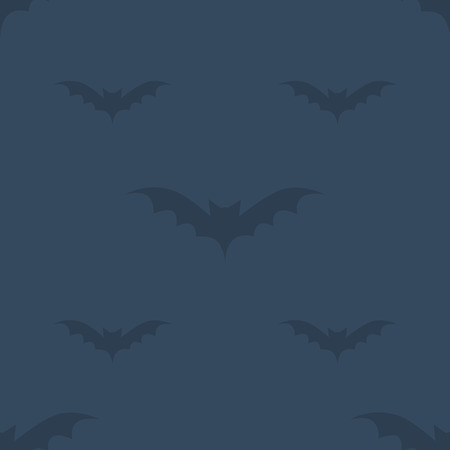 Bat dark pattern for halloween Иллюстрация