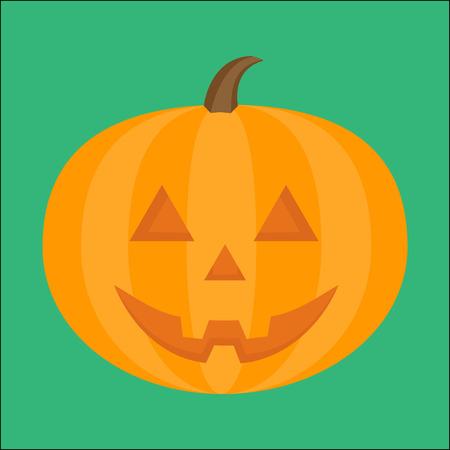 Halloween pumpkin illustration Иллюстрация