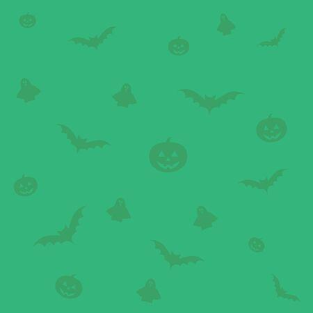 green background: Happy Halloween green background