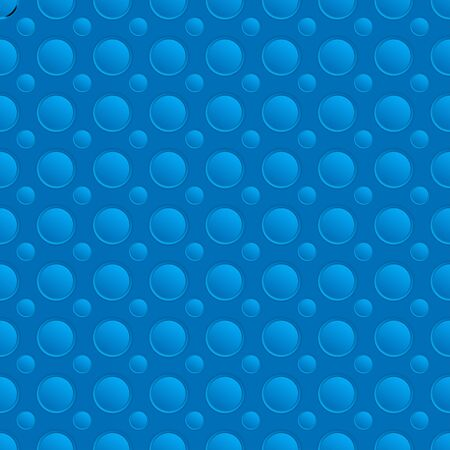 aluminum: Seamless blue pattern with holes. Vector background illustration