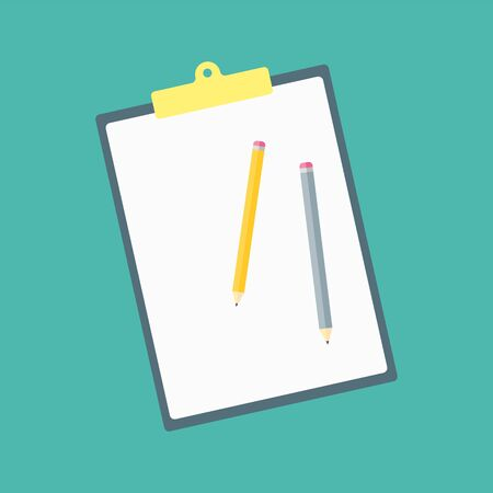 Icon in a flat style. Concept drawing and educational tools. Vector illustration.
