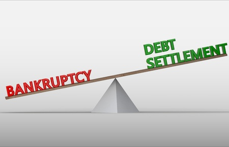 Bankruptcy and Debt settlement on scale