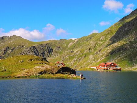 balea: Balea Lake - Romania