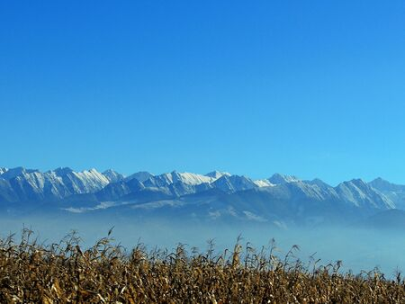 Winter in Fagaras National Park, Romania