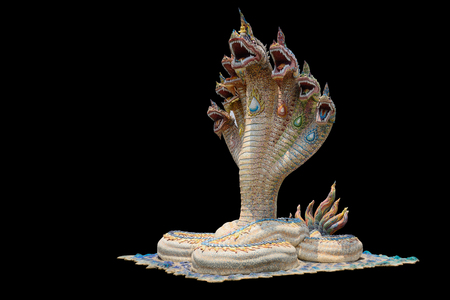 buddha statue: Naga or serpent is the belief in South Asia and Southeast Asia. By a different name