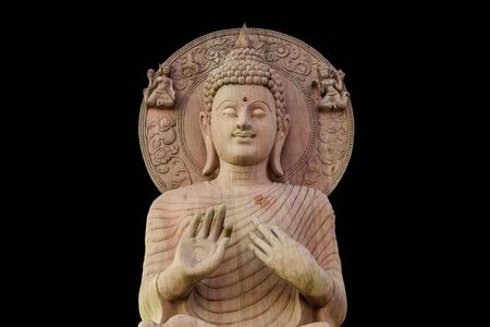Buddha means that God created instead of King Buddha. To worship May be carved out of various materials such as stone, wood, ivory or other Sawasdee Ka