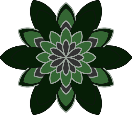 Flower vector set, flowers icon for decorative and beauty design