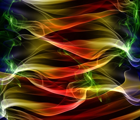 Vibrant colorful abstract background wallpaper with smoke pattern