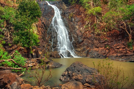 Beautiful jungle waterfall in Simlipal tiger reserve national park Stock Photo - 11965046
