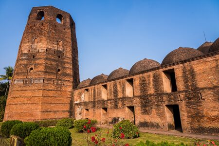 haveli: The famous Katra mosque where the tomb of the first Nawab of Bengal, Murshid Quli Khan, is buried in Murshidabad. Stock Photo