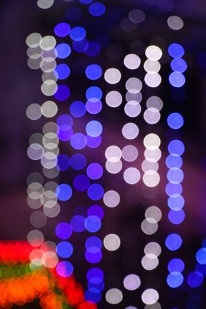 Colored bokeh Light Background delhi india