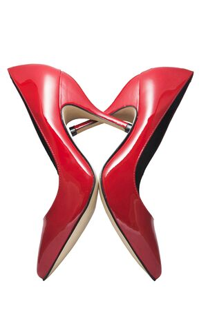 sexi: Red shoes forming a heart