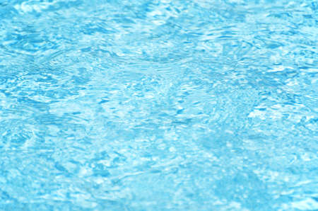 Blue pool water  photo