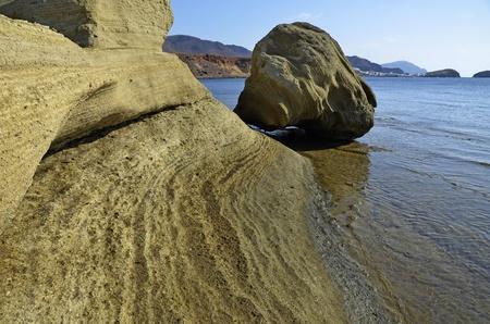 sea and rocks, Cabo de Gata natural park, Escullos Stock Photo - 10878791