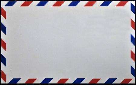Old post envelope, background  Stock Photo