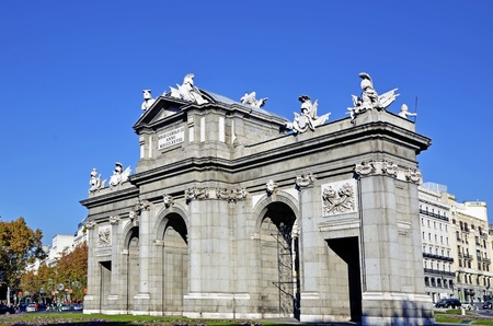 Puerta de Alcala. Alcala gate in Madrid, Spain Stock Photo - 11804298
