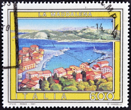 ITALY - CIRCA 1981: A stamp printed in Italy shows La Magdalena, circa 1981 Stock Photo - 11815640