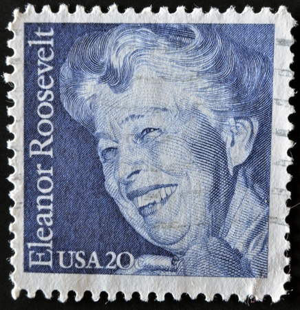 roosevelt: UNITED STATES - CIRCA 1984: stamp printed in USA shows Eleanor Roosevelt, circa 1984  Editorial