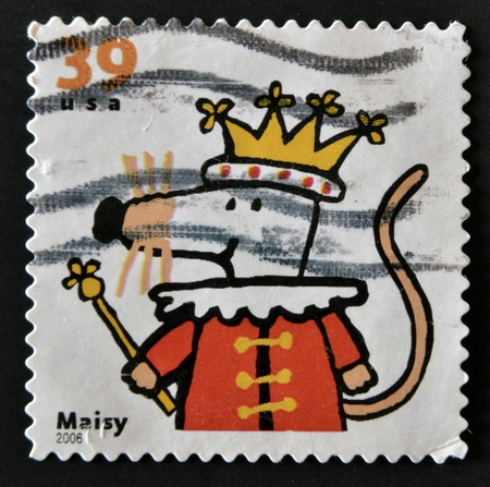 UNITED STATES OF AMERICA - CIRCA 2006: A stamp printed in USA shows Maisy, circa 2006 Stock Photo - 11949230