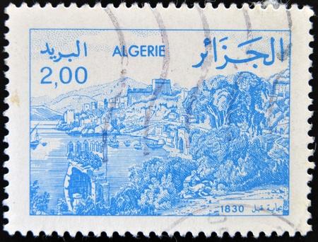 ALGERIA - CIRCA 1984: stamp printed in Algeria shows Bejaia, circa 1984