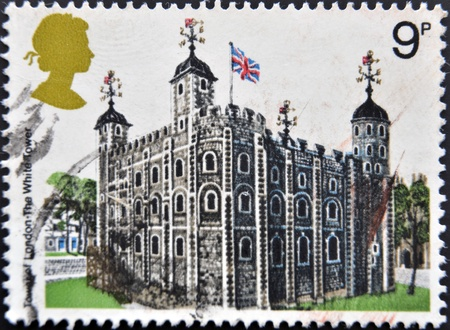 UNITED KINGDOM - CIRCA 1978   A  Stamp printed in Great Britain showing the Tower of London, circa 1978  Stock Photo - 12465186