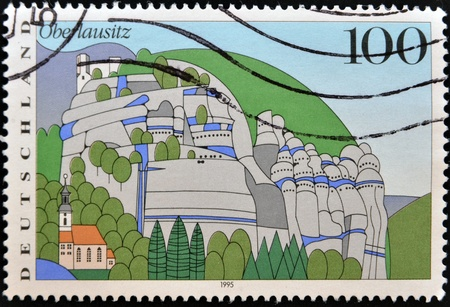 GERMANY - CIRCA 1995: A stamp printed in Germany shows Oberlausitz , circa 1995 Stock Photo - 13291867
