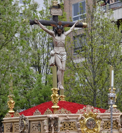 Christ of the Good Death in procession, Granada