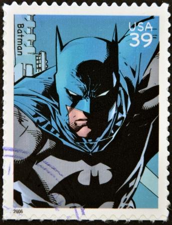 アメリカ合衆国 - 2006 年頃: スタンプのアメリカ ショー バットマン、2006 年頃印刷