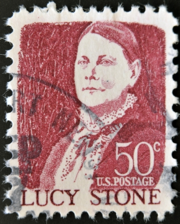 UNITED STATES OF AMERICA - CIRCA 1968  stamp printed in USA shows Lucy Stone, circa 1968  Stock Photo - 14137101