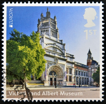 UNITED KINGDOM - CIRCA 2012  A stamp printed in Great Britain shows Victoria and Albert Museum, circa 2012 photo