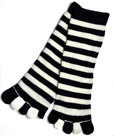 striped socks photo